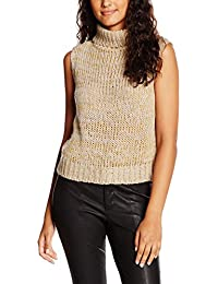 VILA CLOTHES Damen Vikada S/L Knit Top