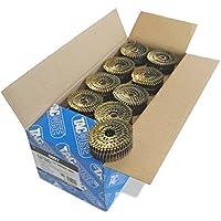 Tacwise 0997 Nagelspule Ring Geradflächig Glänzend ( 2,1/45mm,14.400 Stück pro Verpackung)