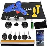 weylon Auto equipo de reparación de abolladuras Kit herramientas pegamento pistola puente extractor herramientas de reparación Kits