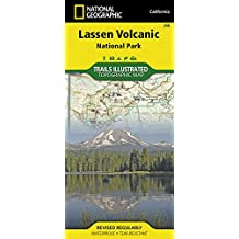 National Geographic Trails Illustrated Map Lassen Volcanic National Park California