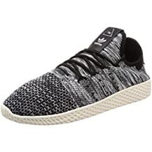 new style 51a06 1dd5c adidas Scarpe Uomo Pharrell Williams Tennis HU in Primeknit Bicolor CQ2630