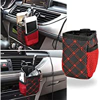 Bolsa organizadora Exoh para colgar en el coche y guardar bebidas, el teléfono y otros accesorios