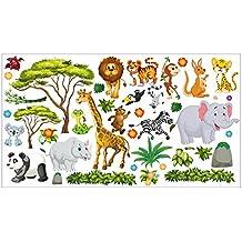 Suchergebnis auf Amazon.de für: wandtattoo kinderzimmer tiere - nikima