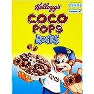 Rocks Coco Pops de Kellogg Coco (350g) - Paquet de 6