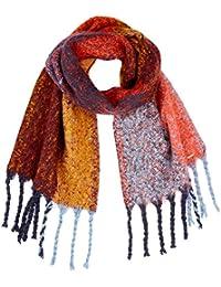 TOM TAILOR DENIM für Frauen Accessoire Schal in Colour-Block-Optik