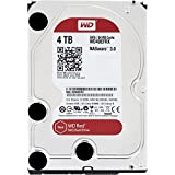 """WD Red - Disco duro para dispositivos NAS de sobremesa de 4 TB (Intellipower, SATA a 6 Gb/s, 64 MB de caché, 3,5"""") rojo"""