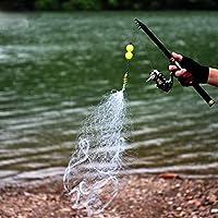 ZHOUMOYW Fishing Net 3.5 * 3.5cm Design Copper Spring Shoal Fishing Net Outdoor Sports Equipment Netting Fishing Tackle Tools C0929