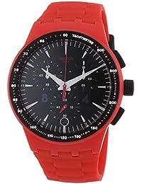 b186535552b2 Swatch Chrono Fire Core - Reloj de Cuarzo Unisex