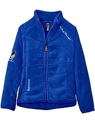 Peak Mountain Galono/xj - Chaqueta de esquí para niña, color morado, talla FR : 10 ans (Talla fabricante : 10)