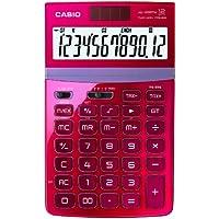 CASIO JW-200TW RD calcolatrice da tavolo -Display a 12 cifre, struttura in metallo di colore rosso - Confronta prezzi