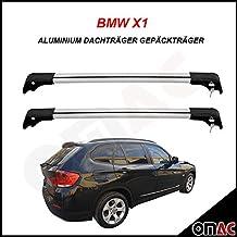 BMW, barre portatutto portapacchi, in alluminio, grigio, chiave V2
