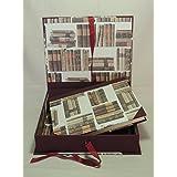 HANDERBEIT FOTO ALBUM 20 x 25cm - 30 blatter - mit BOX