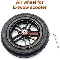 """L-faster 8 Zoll Aufblasbares Rad für E-Twow S2 Scooter M6 Pneumatisches Rad mit Innenrohr 8"""" Scooter Rollstuhl-Luftrad Kann 100Kg Laden"""