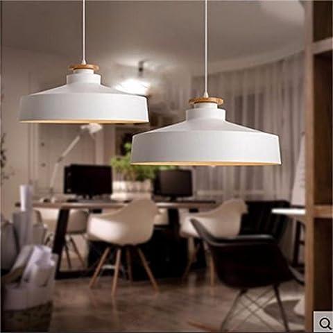 Moderno y minimalista salón dormitorio estudio creativo balcón candelabros de madera maciza , Negro ,