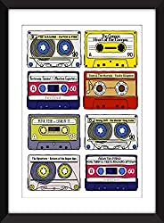 Classic Reggae Albums - Unframed Print - Ideal Gift for Reggae Fan/Impression sans cadre