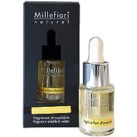 Millefiori Natural wasserlösliches Duftöl 15 ml Legni E Fiori D'Arancio, Glas, Gelb, 5.5 x 11.8 x 5.3 cm, preisvergleich bei billige-tabletten.eu