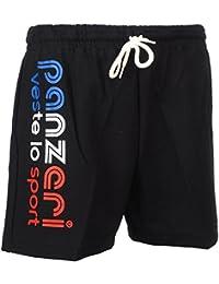 Panzeri - Uni a noir/bbr jersey - Shorts multisports