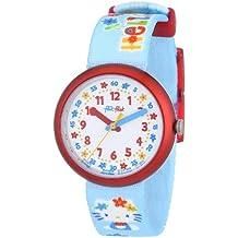 Flik Flak FLN030 - Reloj analógico infantil de cuarzo con correa de plástico multicolor