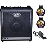 Peavey KB3 Keyboard Amplifier Includes Keyboard Sustain Pedal and 2 10 Foot Instrument Cables