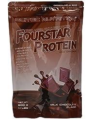 Scitec Nutrition Fourstar Protein AlpenMilch-Schokolade, 1er Pack (1 x 500 g)