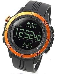 [LAD WEATHER] Sensor alemán Altímetro Barómetro Brújula digital Pronóstico del tiempo Hombre Reloj de
