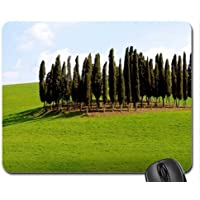 an island of trees in tuscany italy Mouse Pad, Mousepad (Forests Mouse Pad)