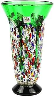 YourMurano Vaso in vetro di Murano fatto a mano, Made in Italy, Vetro soffiato, Design moderno, Fatto a mano,
