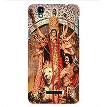 ColourCraft Lord Durga Back Case Cover for YU YUREKA PLUS
