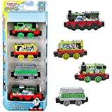 Thomas y sus Amigos - Whiff, Scruff, Percy & Trailer Take-n-Play - Mattel Thomas & Friends