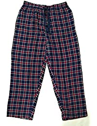 Twist Men's Navy Blue& Red & White Checked 100% Cotton Pyjama Sleepwear Night Wear