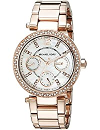 Michael Kors Analog Rose Dial Women's Watch - MK5616