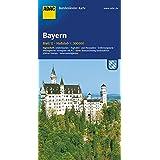 ADAC Bundesländerkarte Deutschland, Bayern 1:300.000 (ADAC BundesländerKarten Deutschland)