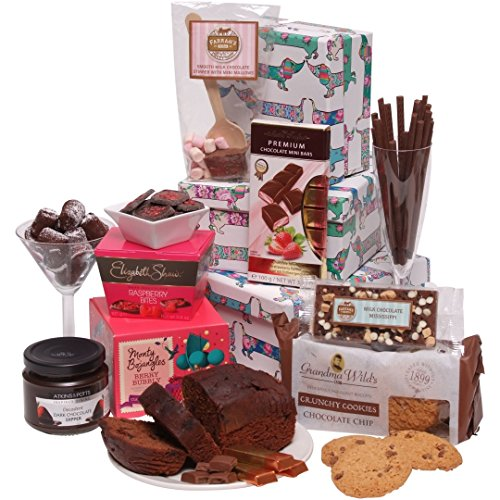 Clearwater Hampers Chocolate Indulgence Hamper - Luxury Chocolate Hampers - Perfect For Christmas - The Ultimate Sweet Gift