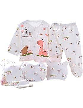 Kris&Ken 5 in 1 Kleidungpaket für Neugeborenen 3 Farben unisex