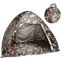 Tenda da Spiaggia,Sunba Youth Portatile Pop-Up Istantaneo Cabana-Tenda da Spiaggia per 2-3 Persone, per Campeggio/Pesca/Escursionismo Picnicing-Tenda Parasole da Spiaggia Anti UV-Copertura Riparo Quick Set