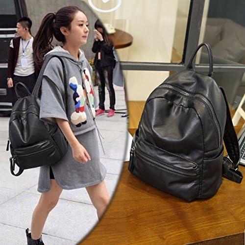 Zaino di di di viaggio in pelle morbida selvaggia della ragazza dello studente della ragazza della spalla nero B073XZYTZM Parent | Meraviglioso  | On Line  | Di Alta Qualità E Low Overhead  588fbc