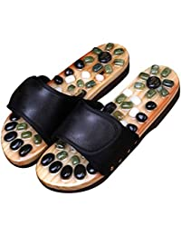 db83d4a0ff304 Slipper Pantofole per Massaggio Ai Piedi Massaggiatore per Piedi con  Magnete in Giada Calzature per Massaggio