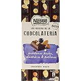 Nestlé Las Recetas De La Chocolatería Chocolate Negro con Arándanos Azules, Almendras y Avellanas - 195 g