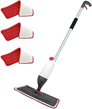 Healthy Aluminium Spray Mop with 3 Extra Cleaning pad, Silver