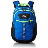 High Sierra Casual Backpack (H040M0006 - Blue Black & Lime)