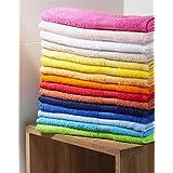 Handtuch bestickt mit Ihrem Namen oder Wunschtext, verschiedene Farben, Größen und Schriften