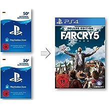 PSN Guthaben Aufstockung für Far Cry 5 Deluxe - PSN Guthaben Far Cry 5 Deluxe Edition | PS4 Download Code - deutsches Konto