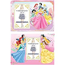 Set 2 Tovagliette Personalizzate Principesse