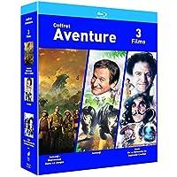 COFFRET AVENTURE Blu-ray - Jumanji / Jumanji : Bienvenue dans la jungle/ Hook- Exclusif Amazon