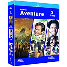 COFFRET AVENTURE Blu-ray - Jumanji / Jumanji : Bienvenue dans la jungle/ Hook- Exclusif Amazon