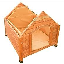 Insulation Aislamiento tapizado para caseta de perro, pequeño, 57 x 56 x 50 cm