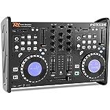 Power Dynamics PDX125 Mezclador 2 canales Controlador DJ CD USB SD MP3