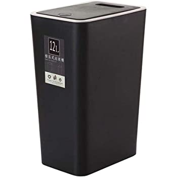 Sanlinkee Mini Trash Can For Desk With Lid Desktop Trash Can Small