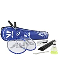 VICFUN Set de bádminton Advanced para Hobby con red, Azul, One size, 795/2/2