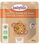 Babybio doypack pintade à l'orange sans gluten 12 mois 190g - ( Prix Unitaire ) - Envoi Rapide Et Soignée